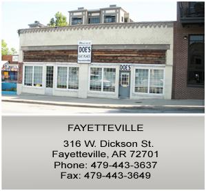 Doe's Eat Place in Fayetteville
